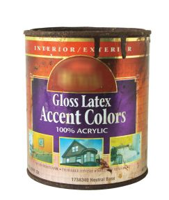 latex paint can
