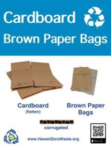 Cardboard & Brown Paper Bag Recycling